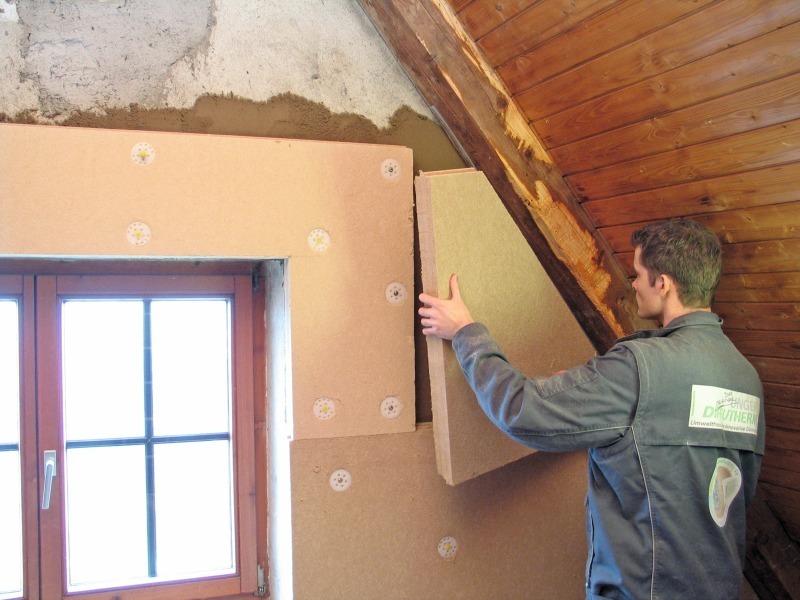 Innendammung Mit Holzfaserplatten Bauhandwerk