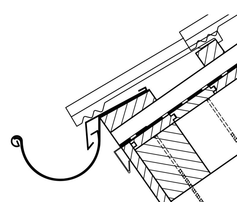 dachrinne montieren planung und montage eines traufblechs fur gartenhaus