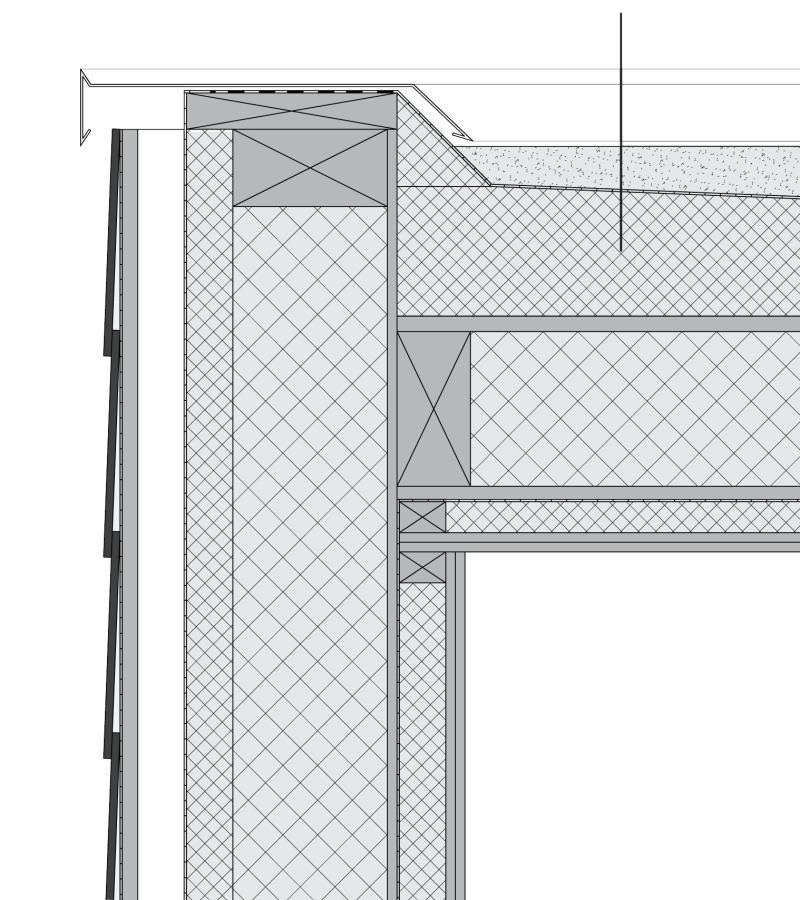 Holzbau detail wand  Modernes Holzhaus am Hang - Bauhandwerk