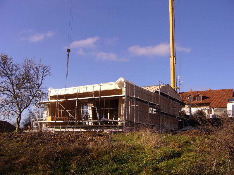 Modernes Holzhaus Am Hang
