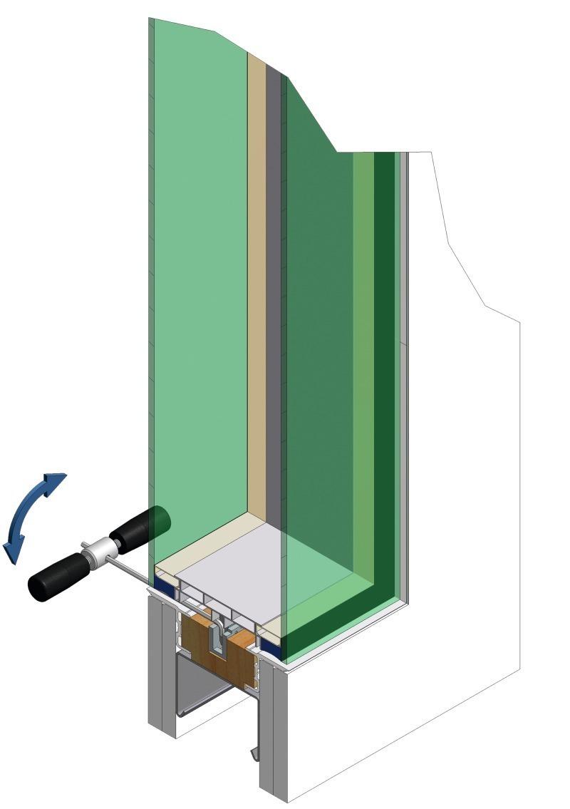Top Verbindung von Glas und Trockenbauwand - Bauhandwerk KQ31