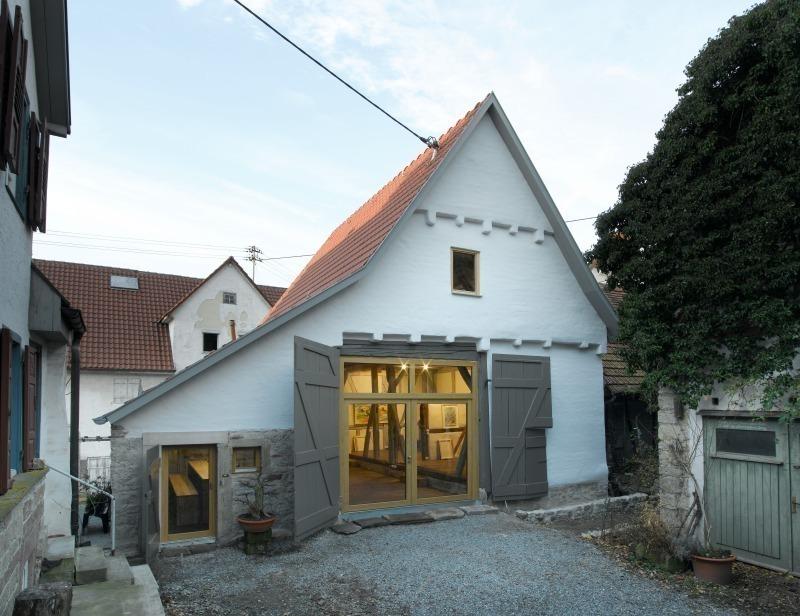 Von Der Scheune Zum Atelier Bauhandwerk