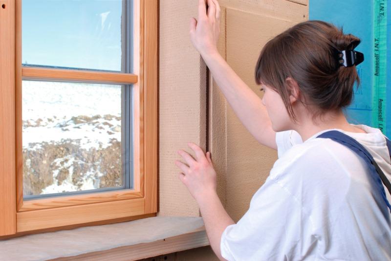 Lehmbauplatte f r fensterlaibungen bauhandwerk - Fensterlaibung innen dammen ...