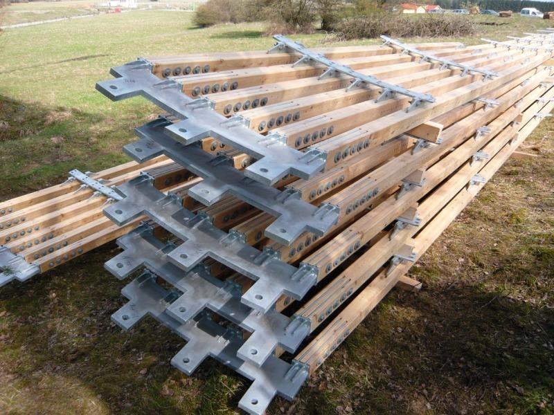 Wahrzeichen Aus Holz Bauhandwerk