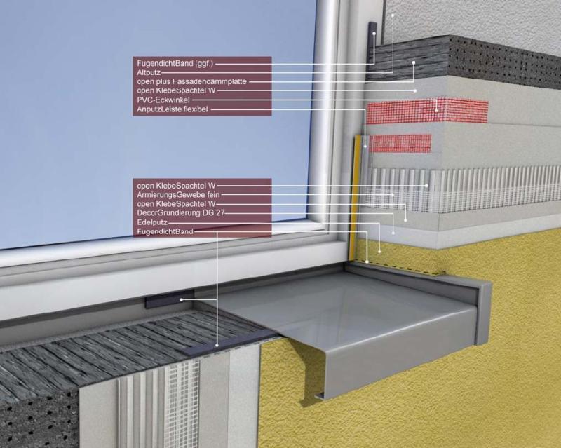Unterschätzter Fensteranschluss - Bauhandwerk