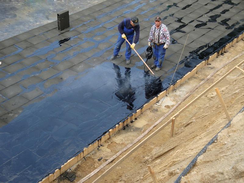 Fußbodenplatten Mit Dämmung ~ Schaumglas perimeterdämmung wasser und dampfdichtes