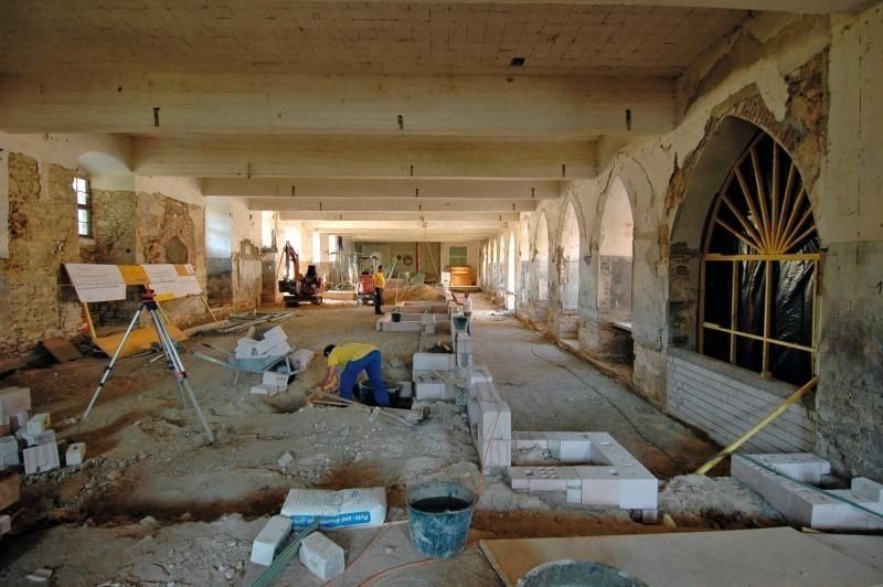 Kritische rekonstruktion des klosters dalheim bauhandwerk - Dicke innenwand ...
