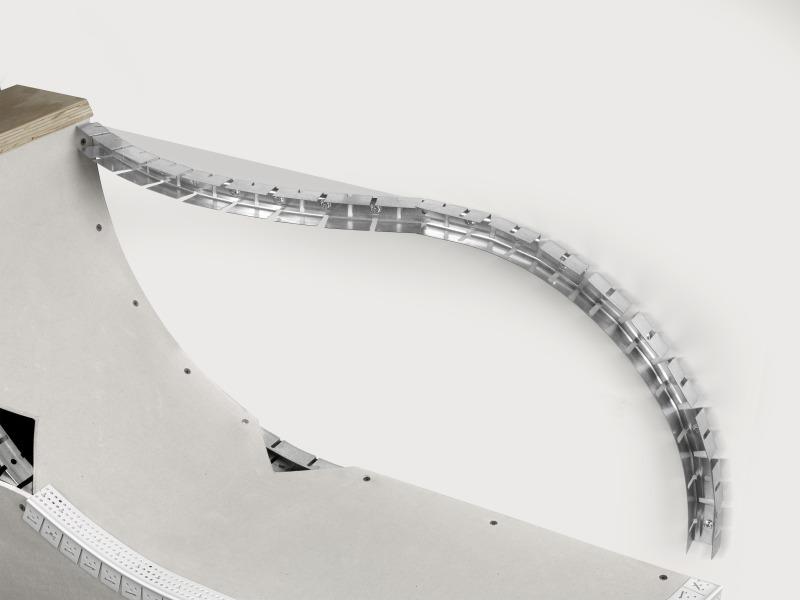 profil f r geschwungene w nde und decken bauhandwerk. Black Bedroom Furniture Sets. Home Design Ideas