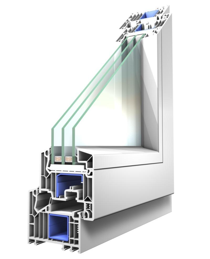 Fenster mit 82 mm bautiefe bauhandwerk for Veka fenster