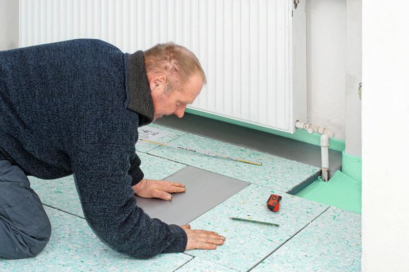 Fußboden Dämmen Styrodur ~ Vakuum fußbodendämmung energetische sanierung eines wohnhauses aus