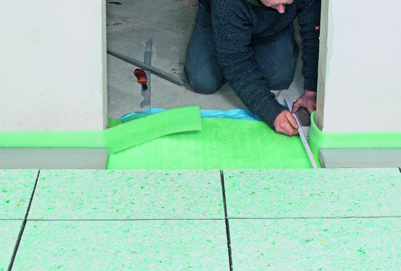 Fußbodendämmung Verlegen ~ Fußbodendämmung verlegen » estrichdämmung verlegen anleitung diybook