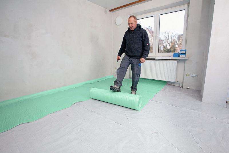 Fußboden Dämmen Folie ~ Vakuum fußbodendämmung energetische sanierung eines wohnhauses aus