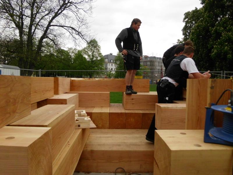 Architekten In Bielefeld baukasten auszubildende des hbz bielefeld brackwede bauen das