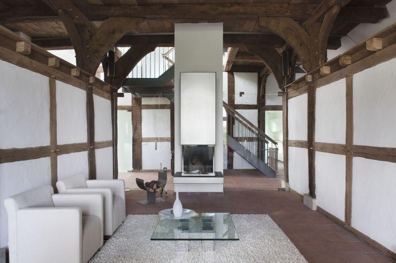landluft macht frei umbau eines bauernhauses mit scheune im teutoburger wald bauhandwerk. Black Bedroom Furniture Sets. Home Design Ideas