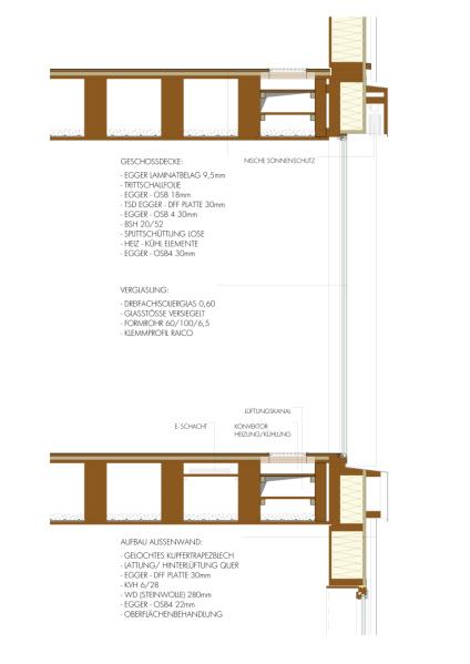 Holzrahmenbau deckenaufbau  Holz-Modulbau mit Zukunft Büroneubau mit Besucherzentrum am Egger ...