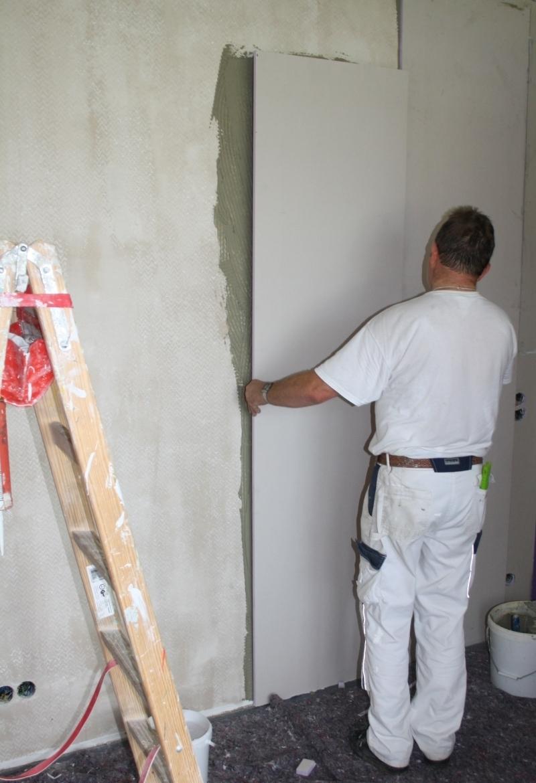 Xps Hartschaum Innendammung Und Dampfbremse In Einem Bauhandwerk