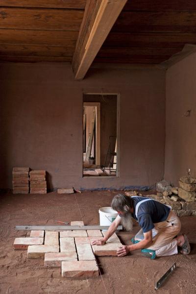 traditionell sanierung eines 430 jahre alten fachwerkhauses in arnstadt bauhandwerk. Black Bedroom Furniture Sets. Home Design Ideas