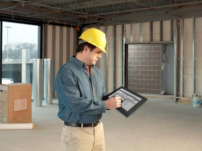 arbeiten mit tablet pc