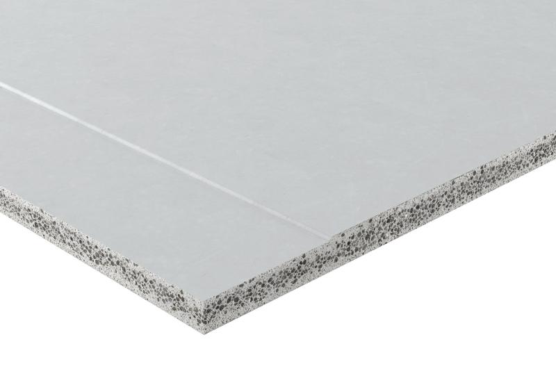 Zementgebundene Platte Mit Trockenbaukante Bauhandwerk