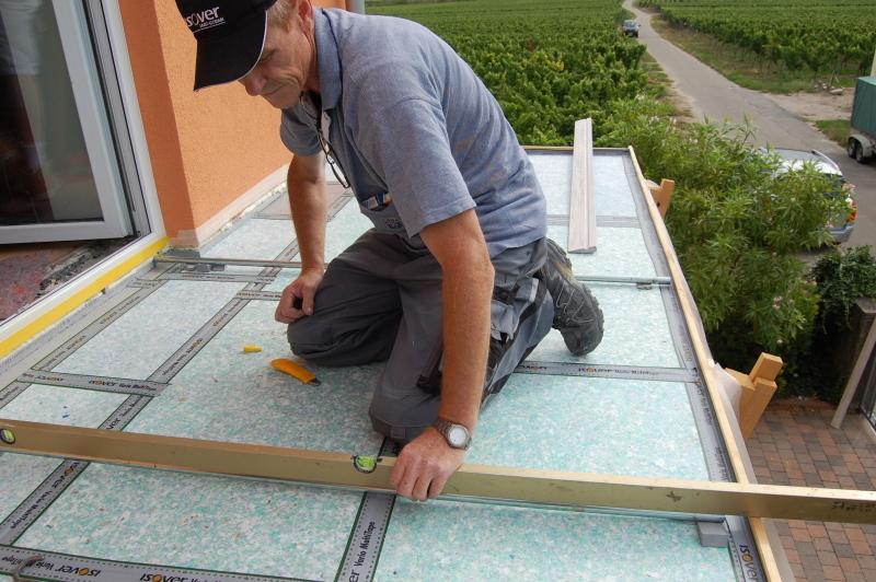 Fußboden Terrasse ~ Vakuumdämmung für fußboden terrasse und flachdach bauhandwerk