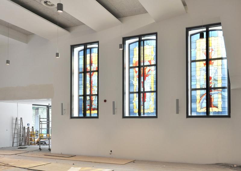 Fenster innenwand  Kirche wird Passivhaus Die erste auf Passivhausnieveau sanierte ...