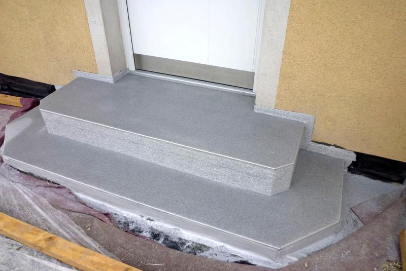 Sehr Kunststoffschutz für Außentreppen - Bauhandwerk ZH38