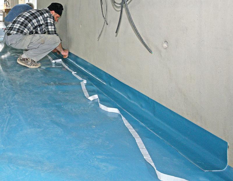 Favorit Kunststoff statt Bitumen Abdichtung mit Folien aus Polyethylen TY22