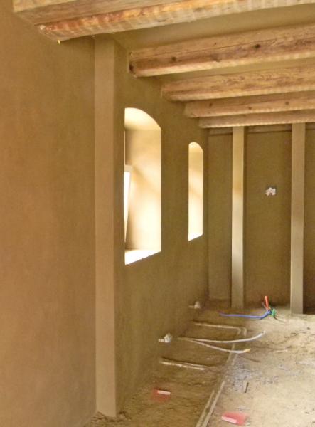 Bruchsteinwand Sanieren cellulose auf bruchstein gesprüht innendämmung für ein bauernhaus