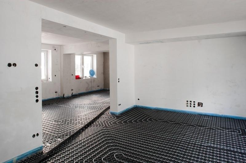 fu boden sanierung im zukunftshaus der einsatz von nivellierestrich auf einer extrem. Black Bedroom Furniture Sets. Home Design Ideas