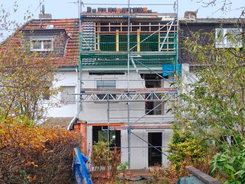 Das Dach Erhielt Zur Gartenseite Eine Geschosshohe Gaube Mit Panoramafenster Foto Bjrn Martenson