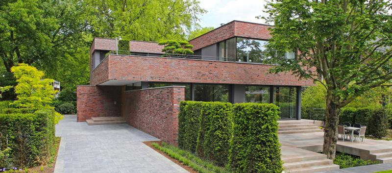 Architekt Krefeld fließende räume neubau einer villa in krefeld mit gleichen