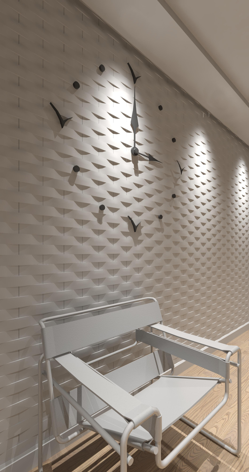 Wandverblender aus echtem Stuck - Bauhandwerk