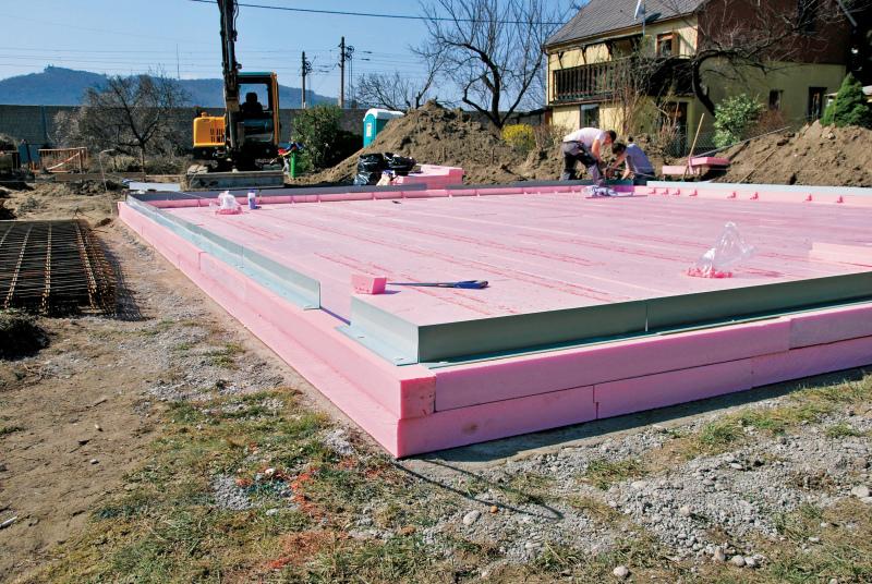 Schalung Dammung Und Abdichtung In Einem Bauhandwerk