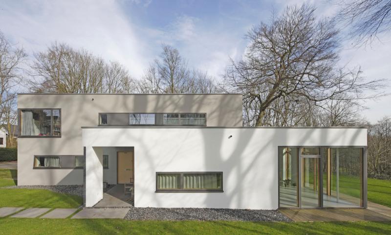 Umbau Eines Siedlerhauses In Bochum Wattenscheid Zum Flachdach