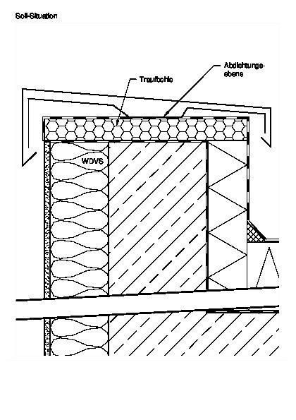 Korrekte Obere Anschlusse Von Wdvs Bauhandwerk