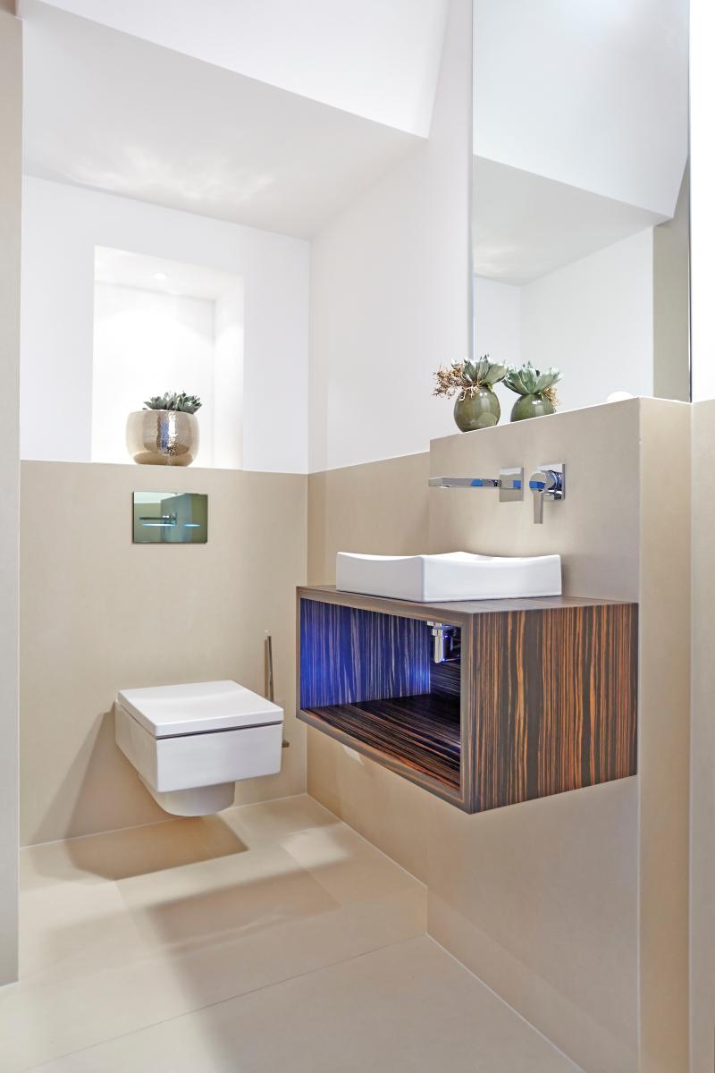 Harte Platte fürs Bad - Bauhandwerk