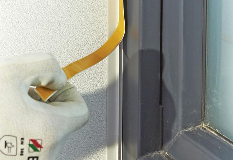energetische sanierung in g tersloh lotrechte fassadenfl chen saubere fensterbank anschl sse. Black Bedroom Furniture Sets. Home Design Ideas