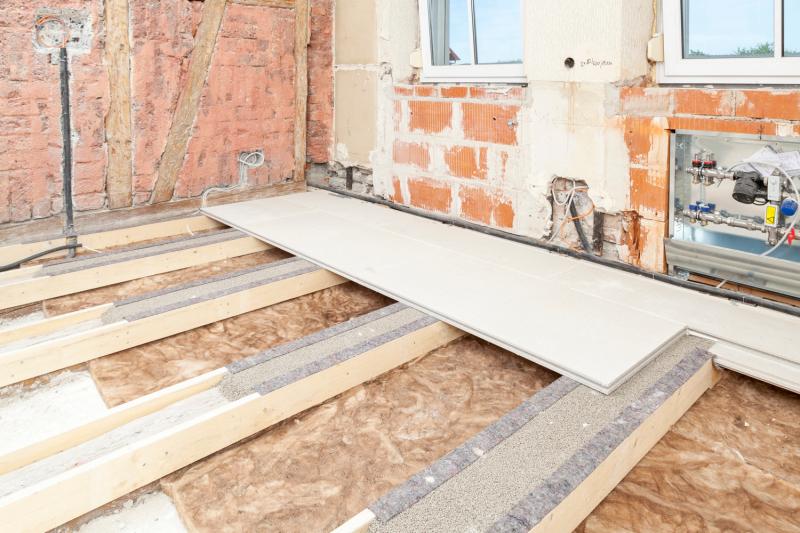 So Werden Holzbalkendecken Schallmindernd Uberbaut Bauhandwerk