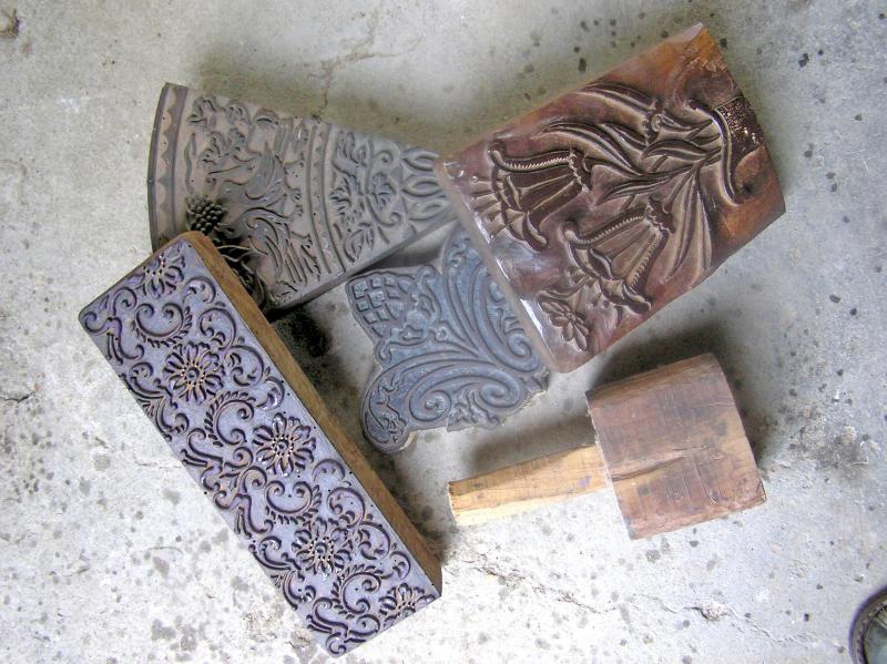 Wie Man Mit Holzblocken In Putz Aus Kalk Drucken Kann Bauhandwerk