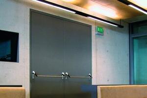 Stumpf einschlagende Türen lassen sich in bestimmten Einbausituationen ohne Hinterfüllen oder Vermörteln montieren<br />