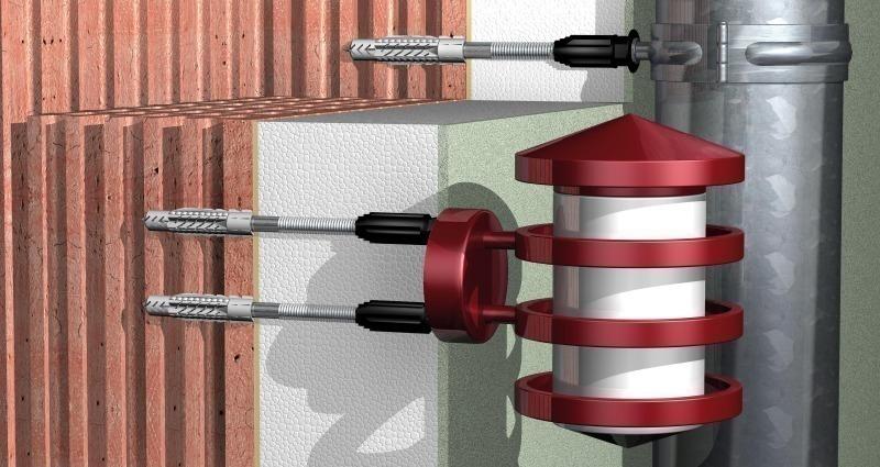 Super Schwerlastbefestigung fürs WDVS - Bauhandwerk AN78