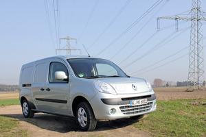 Der Testwagen: Renault Kangoo Maxi Z.E. mit 4 m³ Ladevolumen<br />Fotos: Olaf Meier<br />