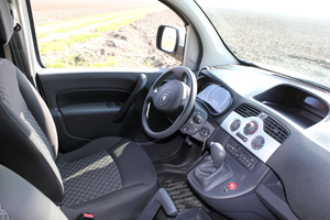 Das Cockpit des Kangoo Z.E. entspricht seinen Pendants in den Modellen mit Verbrennungsmotor