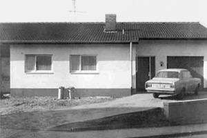 Die nicht nur aus energetischer Sicht vergleichsweise ungünstige Ausgangssituation: das Reihenendhaus aus den 1970er Jahren in Mühltal<br />