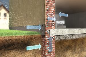 Da der Feuchtigkeitszutritt zu einem Mauerwerk viele Ursachen haben kann, gehört zu einer Instandsetzung immer die Untersuchung der Feuchtigkeitsquelle sowie der vorhandenen Salze<br /><br />