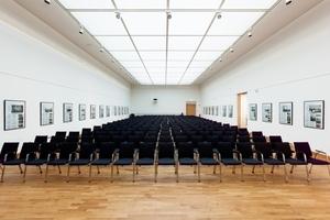 Der Oberlichtsaal im zweiten Obergeschoss nach Abschluss der Sanierungs- und Umbauarbeiten<br />Fotos: Steffen Junghans