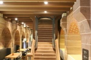 Treppe ins Obergeschoss<br />