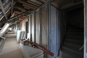 Trockener Innenausbau im Dachgeschoss