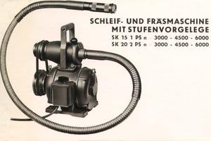 Die flexible Welle von Ackermann und Schmitt gab der Flex und später dem Unternehmen den Namen<br />
