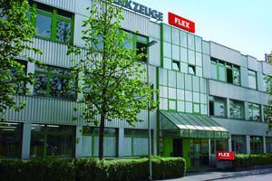 Seit 1984 befindet sich die Flex Zentrale in Steinheim an der Murr<br />